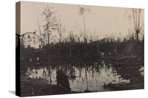Visions of War 1915-1918: Island Fagarè-Vincenzo Aragozzini-Stretched Canvas Print
