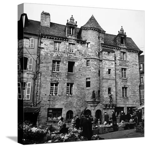 The Palace of Landerneau-Pietro Ronchetti-Stretched Canvas Print