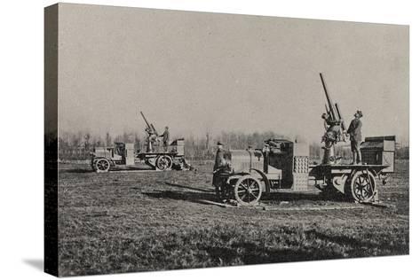 Visions of War 1915-1918: Anti-Aircraft-Vincenzo Aragozzini-Stretched Canvas Print