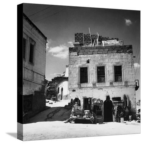 An Antique Store Along the Streets of Velisar in Turkey-Pietro Ronchetti-Stretched Canvas Print