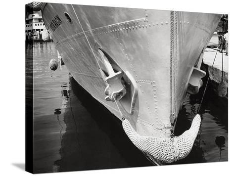 Prow of a Ship-Dusan Stanimirovitch-Stretched Canvas Print