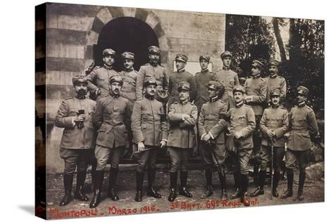 Free State of Verhovac-July 1916: Soldiers of the Third Battalion 69th Infantry Regiment--Stretched Canvas Print