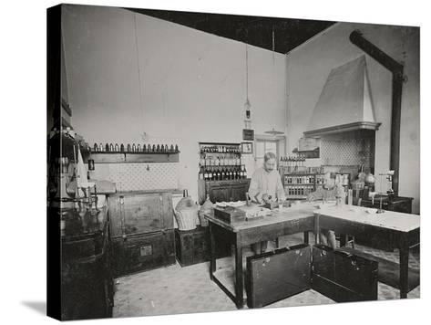 World War I: Chemical Laboratory in a Military Hospital--Stretched Canvas Print