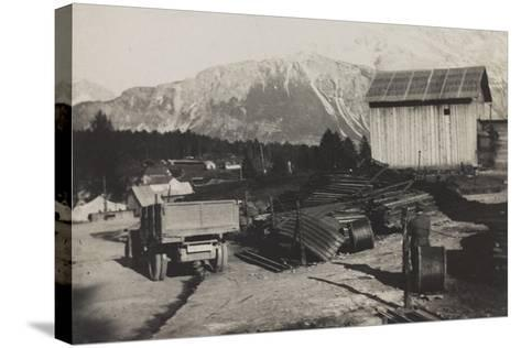World War I: Storehouse of the Genius in Pocol--Stretched Canvas Print
