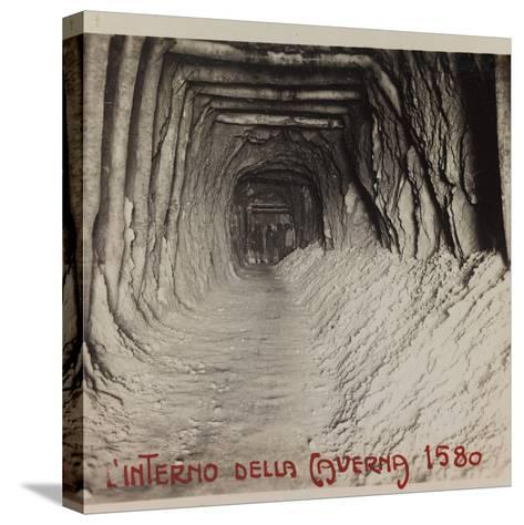 Free State of Verhovac-July 1916: Entrance to the Cave (Cave in 1580)--Stretched Canvas Print