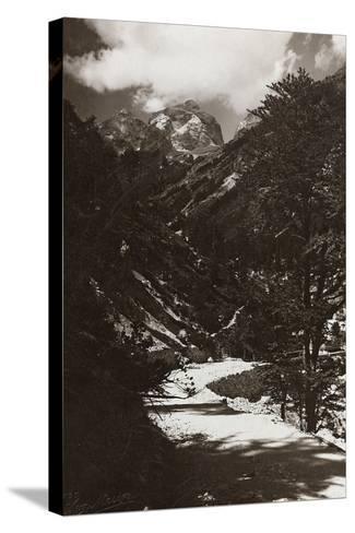 Janolih Mount--Stretched Canvas Print