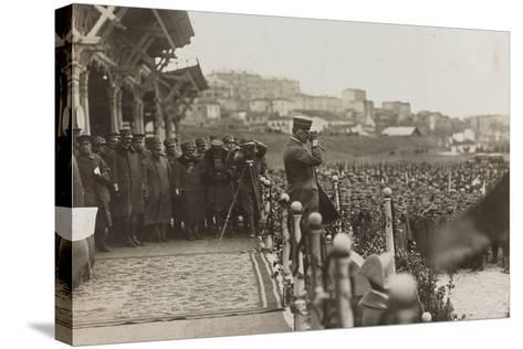 War Campaign 1917-1920: Trieste February 19, 1919, Emanuele Filiberto Di Savoia Duca D'Aosta--Stretched Canvas Print