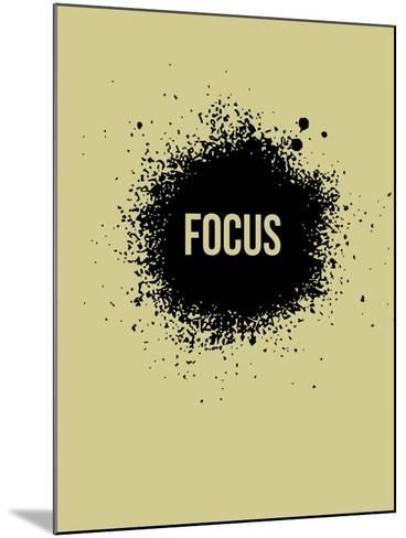Focus Grey-NaxArt-Mounted Art Print