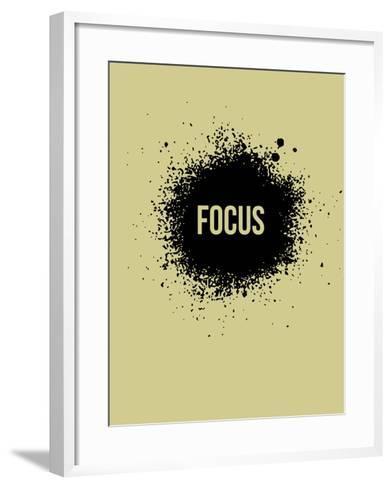 Focus Grey-NaxArt-Framed Art Print