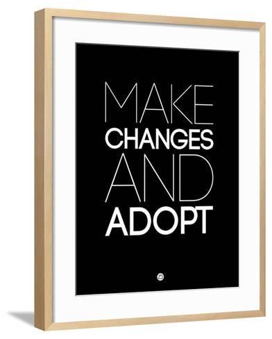 Make Changes and Adopt 1-NaxArt-Framed Art Print