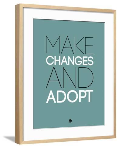 Make Changes and Adopt 2-NaxArt-Framed Art Print
