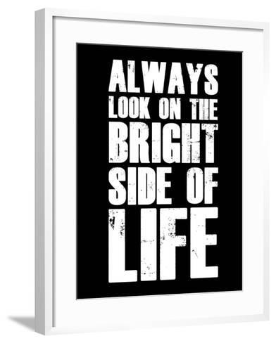 Bright Side of Life  Black-NaxArt-Framed Art Print