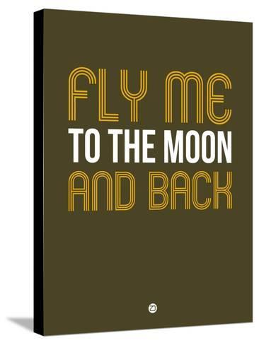 Fly Me to the Moon and Back-NaxArt-Stretched Canvas Print