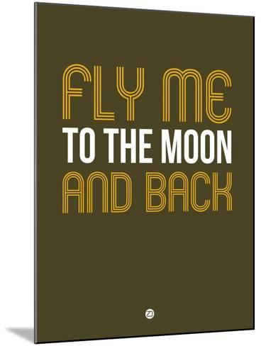 Fly Me to the Moon and Back-NaxArt-Mounted Art Print