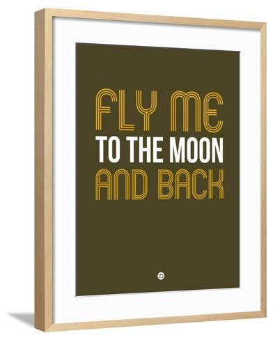 Fly Me to the Moon and Back-NaxArt-Framed Art Print