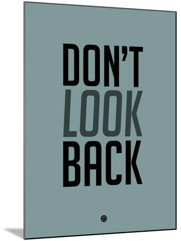 Don't Look Back 1-NaxArt-Mounted Art Print