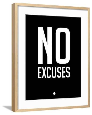 No Excuses 1-NaxArt-Framed Art Print