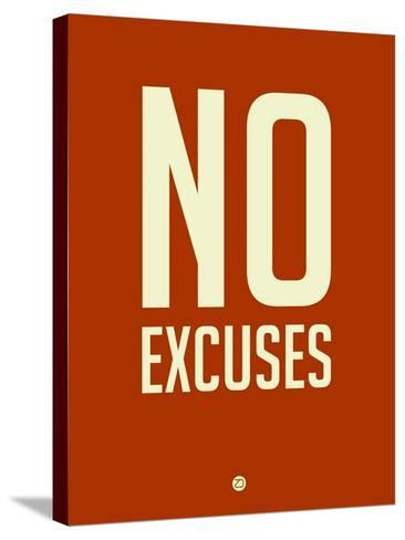 No Excuses 2-NaxArt-Stretched Canvas Print