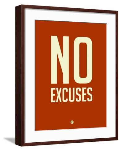 No Excuses 2-NaxArt-Framed Art Print