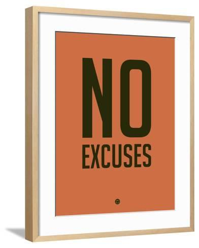 No Excuses 3-NaxArt-Framed Art Print