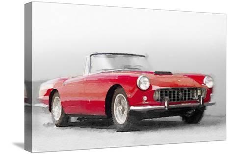 1960 Ferrari 250GT Pinifarina Watercolor-NaxArt-Stretched Canvas Print