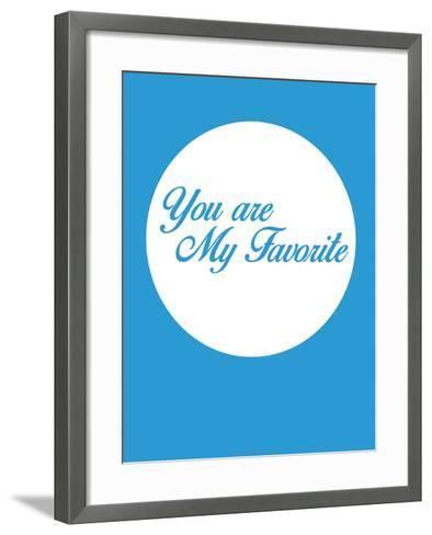 You are My Favorite 2-NaxArt-Framed Art Print