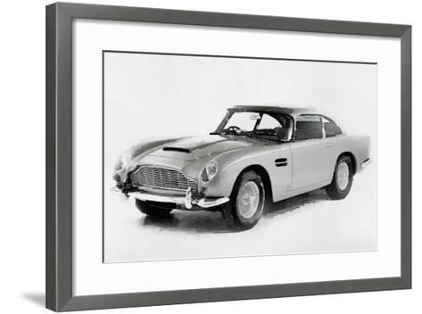 1964 Aston Martin DB5 Watercolor-NaxArt-Framed Art Print