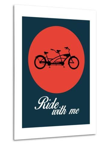 Ride with Me 1-NaxArt-Metal Print