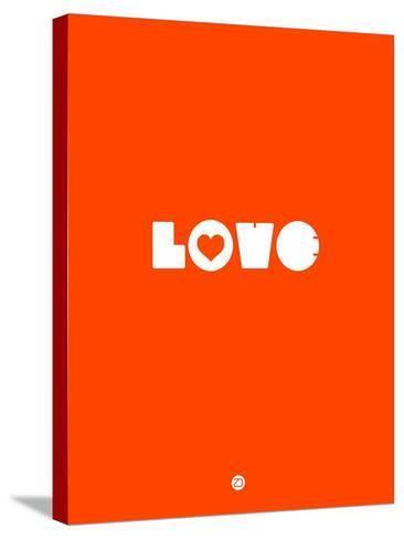 Love Orange-NaxArt-Stretched Canvas Print