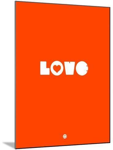 Love Orange-NaxArt-Mounted Art Print