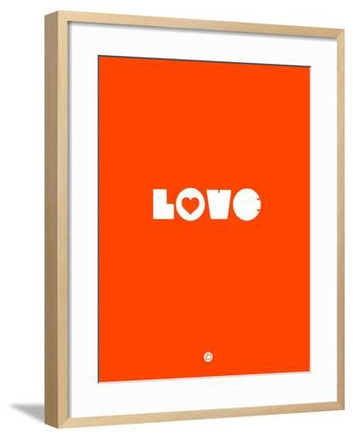 Love Orange-NaxArt-Framed Art Print