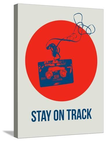 Stay on Track Circle 1-NaxArt-Stretched Canvas Print
