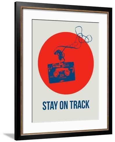 Stay on Track Circle 1-NaxArt-Framed Art Print