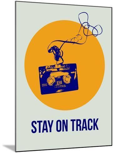 Stay on Track Circle 2-NaxArt-Mounted Art Print