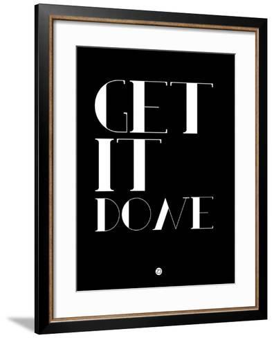 Get it Done-NaxArt-Framed Art Print