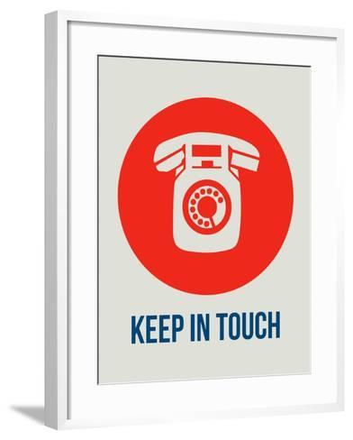Keep in Touch 1-NaxArt-Framed Art Print