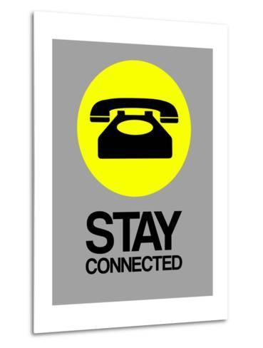 Stay Connected 1-NaxArt-Metal Print