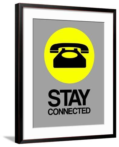 Stay Connected 1-NaxArt-Framed Art Print