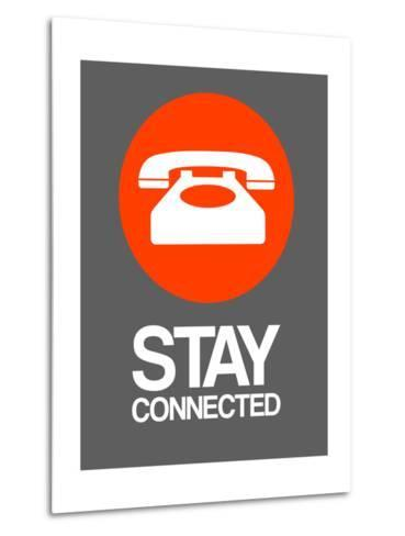 Stay Connected 2-NaxArt-Metal Print