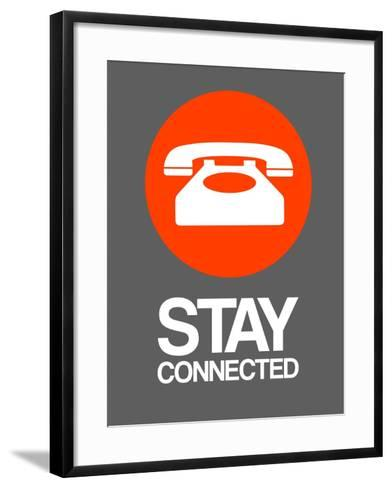 Stay Connected 2-NaxArt-Framed Art Print