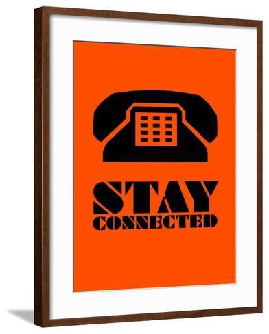 Stay Connected 3-NaxArt-Framed Art Print