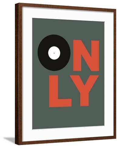Only Vinyl 2-NaxArt-Framed Art Print