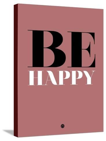 Be Happy 2-NaxArt-Stretched Canvas Print