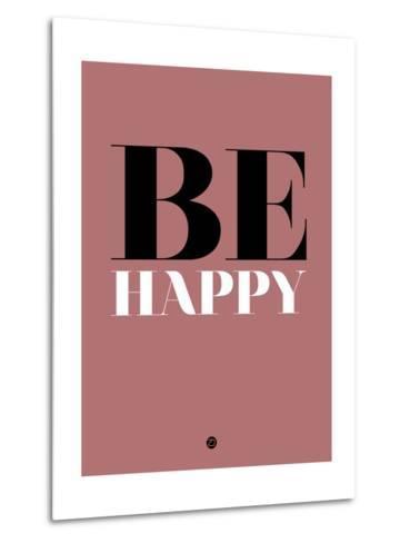 Be Happy 2-NaxArt-Metal Print