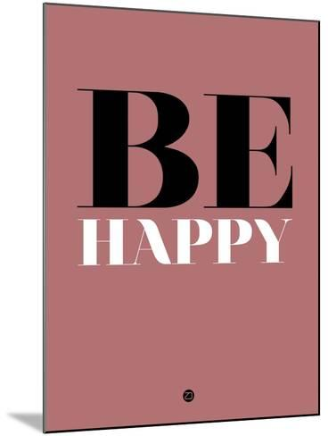 Be Happy 2-NaxArt-Mounted Art Print