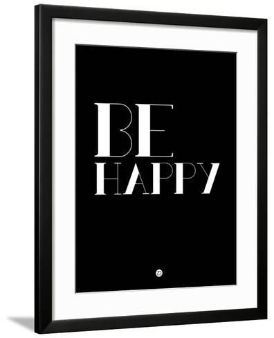 Be Happy 3-NaxArt-Framed Art Print