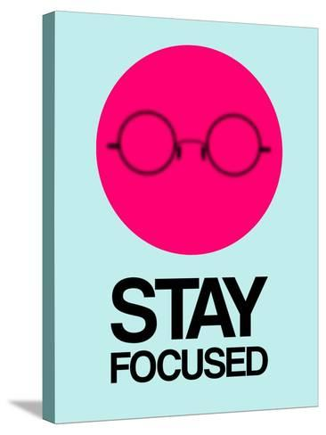 Stay Focused Circle 1-NaxArt-Stretched Canvas Print