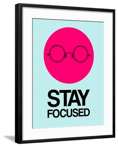 Stay Focused Circle 1-NaxArt-Framed Art Print