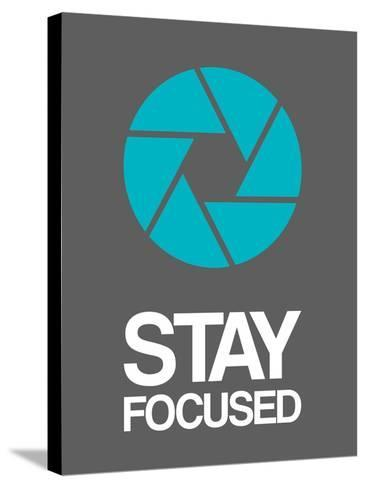 Stay Focused Circle 4-NaxArt-Stretched Canvas Print