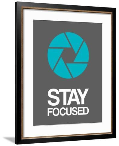 Stay Focused Circle 4-NaxArt-Framed Art Print